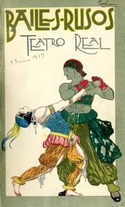 Programa del Teatro Real de Madrid, 1917