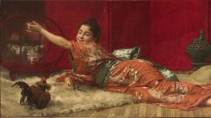 Pintura, óleo sobre lienzo