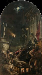 El martirio de San Lorenzo, 1558 - Tiziano