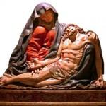 Madera policromada - escultura s. XVI - españa - policromía