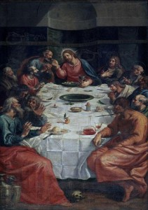 Última cena (Vicente Carducho, 1622. Monasterio del Corpus Christi, Madrid)