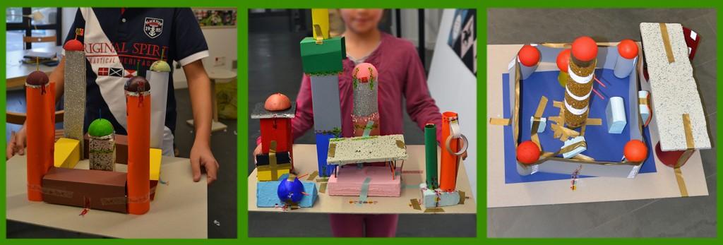 Trabajos de Alumnos: Palacios y Castillos (Taller de Arquitectura)