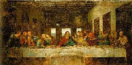 La última cena - Leonardo da Vinci, 1495-1497