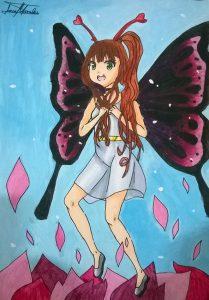 La Mariposa Viajera (ilustración)